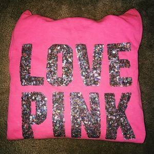 PINK sparkle jacket